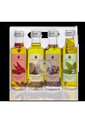 Estuche Aceite oliva 4 condimentos