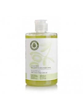 Champú con aceite de oliva virgen Extra