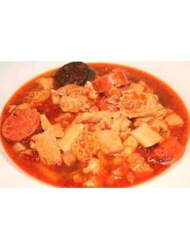 Callos en salsa Roja