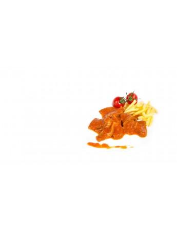 Morro de ternera en salsa