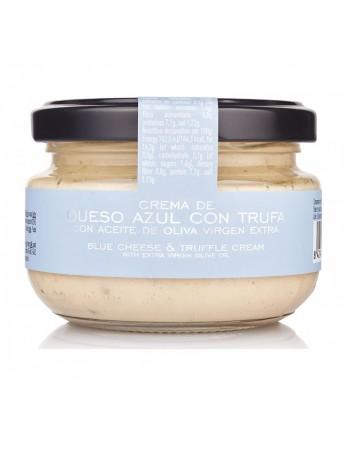 Crema de queso azulcon Trufas