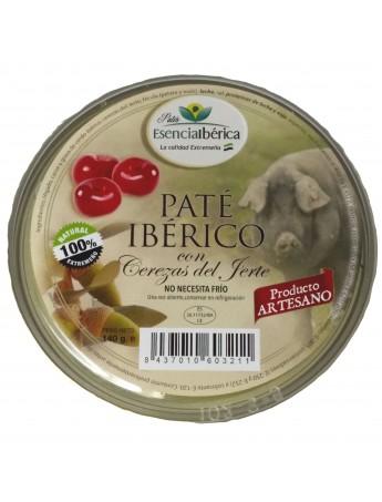 Paté Ibérico con cerezas