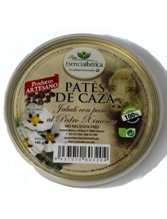 Paté de jabalí con pasas al Pedro Ximenez