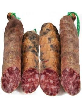 Salchichón Ibérico cular elaborado con magros del cerdo ibérico. Curación 3 meses. Peso de 0.9 kg a 1.250 kg