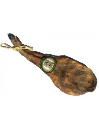 Paleta Ibérica de Cebo (Pata Negra) Certificada. Curación 20 meses mínimo en bodega. Peso de 5 a 5,5 Kg.