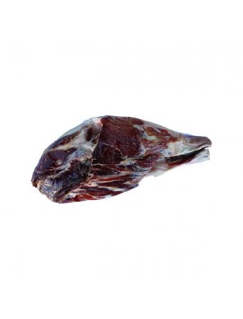 Jamón Ibérico de Guijuelo (Pata Negra) deshuesado. Curación de más de 36 meses en bodega. Peso de 5 a 5,5 Kg.
