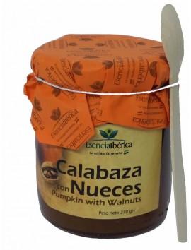 MERMELADAS GOURMET ARTESANAL: Manzana con Aceituna + Cereza Picota + Calabaza Con Nueces + Cereza y Chocolate Blanco en cesta